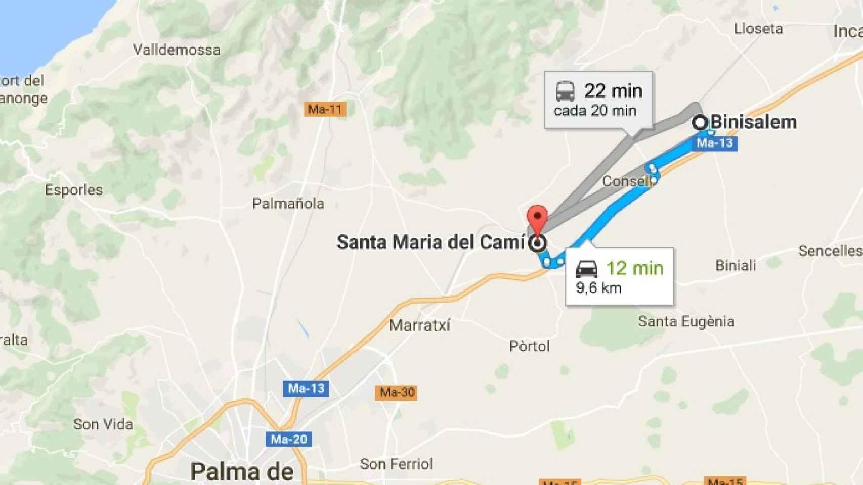 La madre de Nadia se ha instalado en casa de la abuela de la niña, en Santa María.