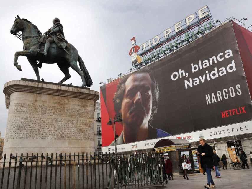 El polémico cartel publicitario de Narcos también fue motivo de quejas