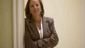 La reportera Salud Hernández-Mora posa en el hotel Palace.