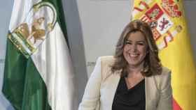 Susana Díaz, esta semana en Sevilla.