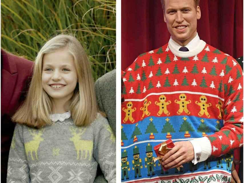 Los royals europeos ponen de moda los jerseys con motivos navideños