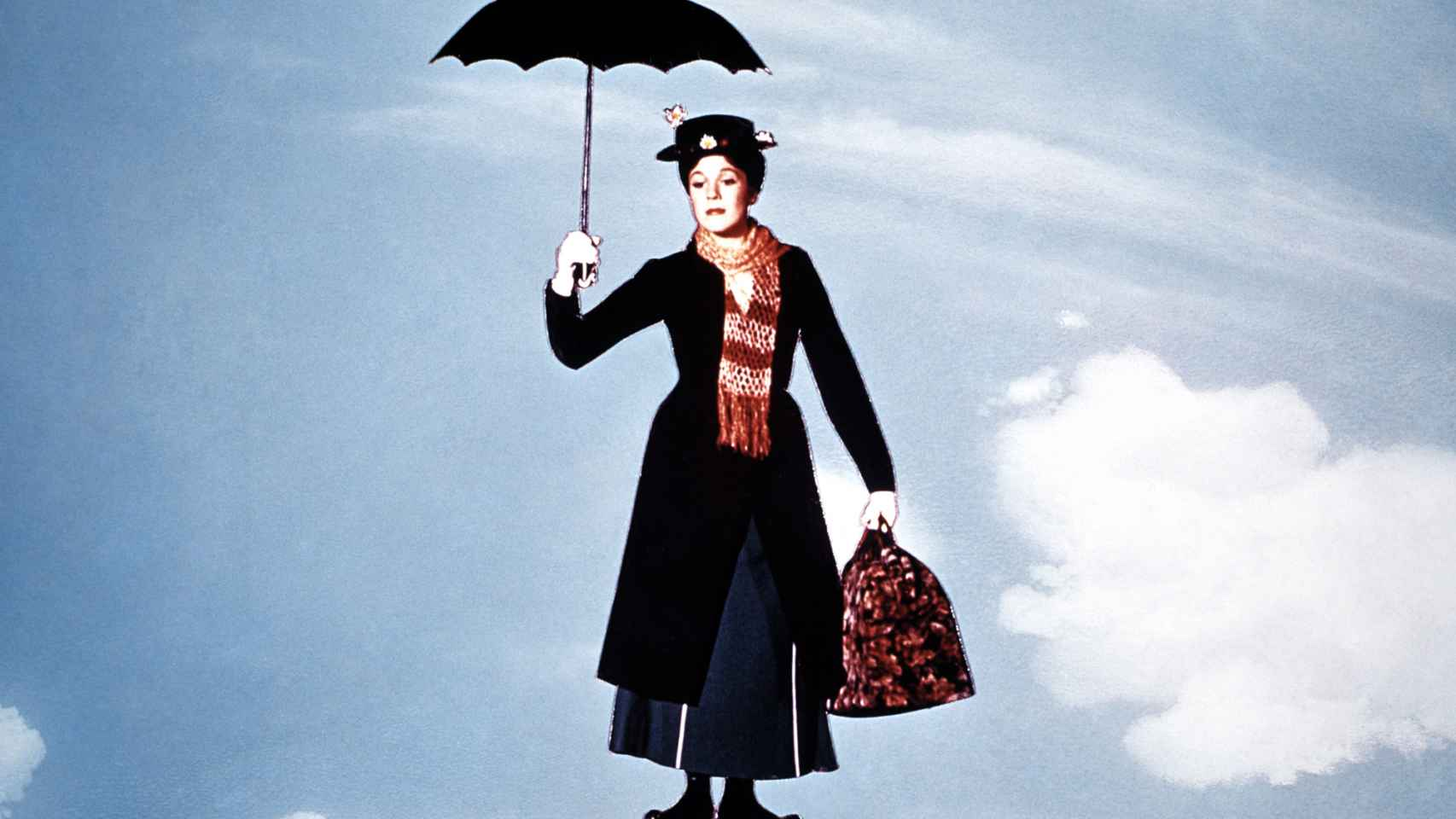 Julie Andrews consiguió el Oscar por Mary Poppins.