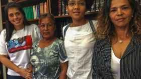 Andreína, Sonia, Dioris y Ratiuska tienen a seres queridos encarcelados.