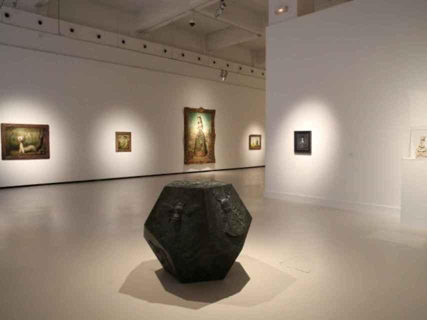 Parte de la muestra expuesta en el CAC Málaga.