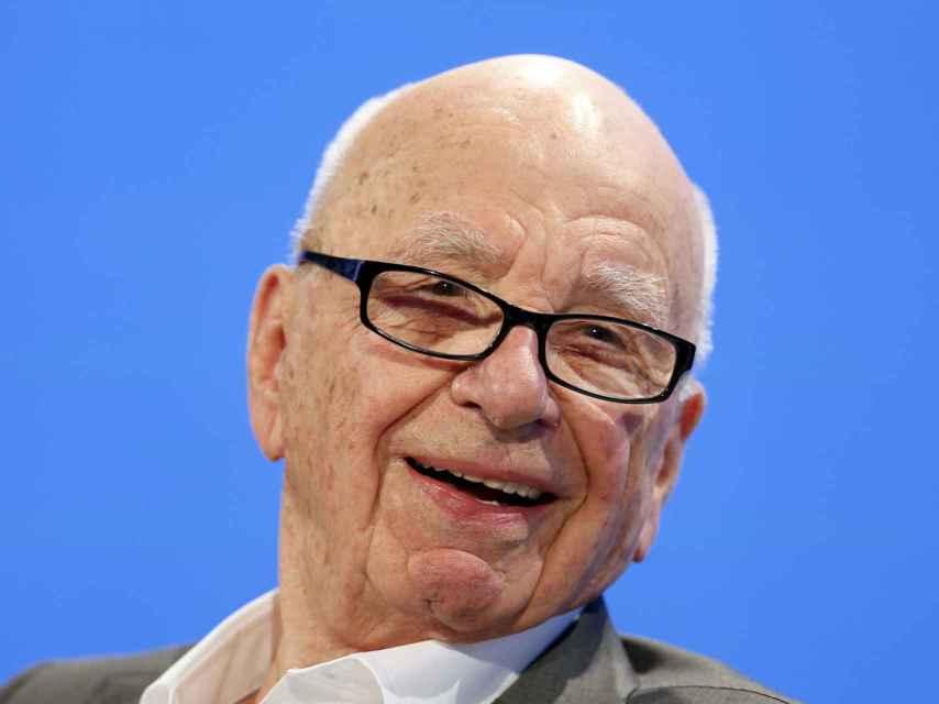 Rupert Murdoch, presidente de News Corp y 21st Century Fox.