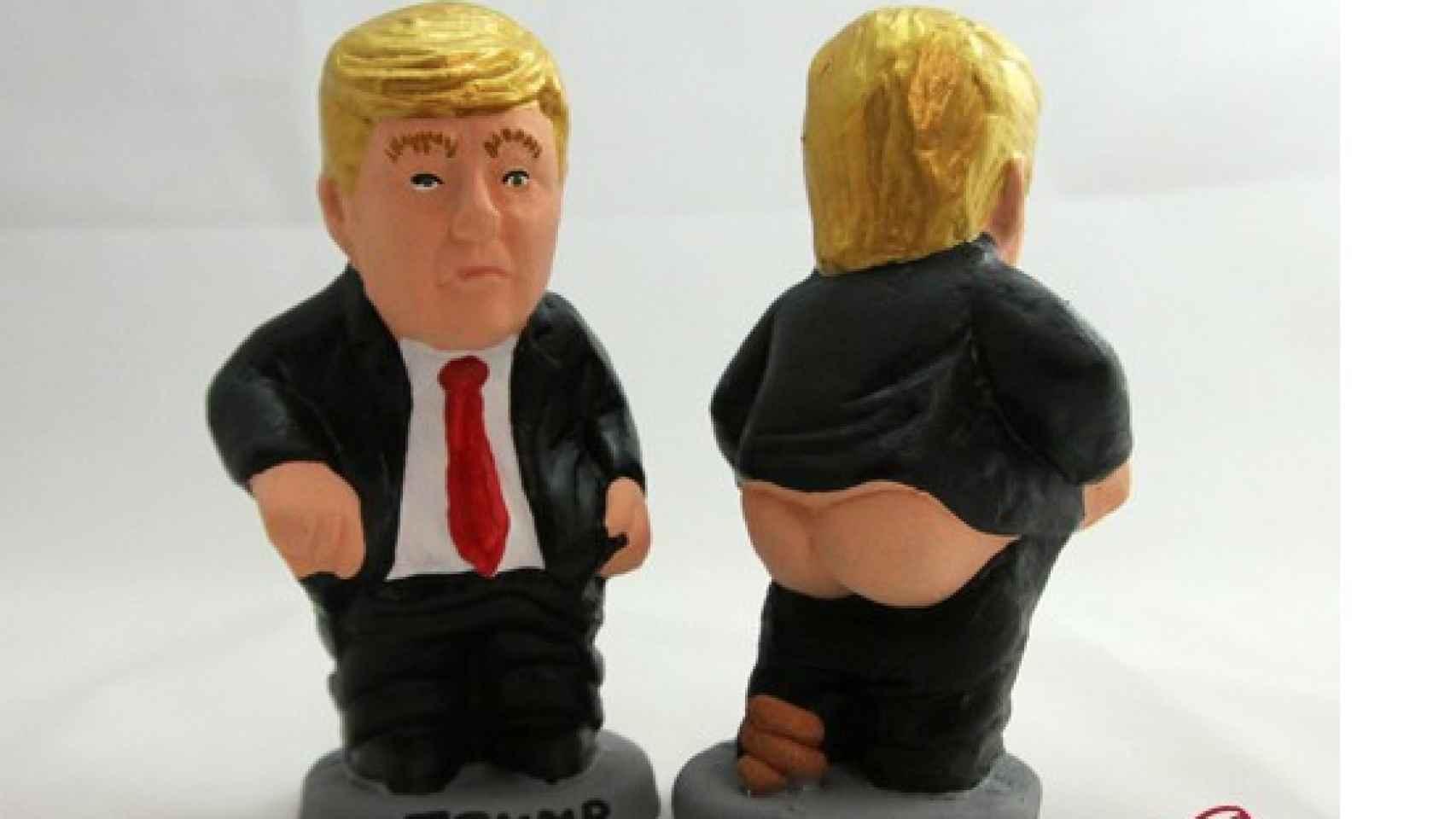 Caganer de Donald Trump