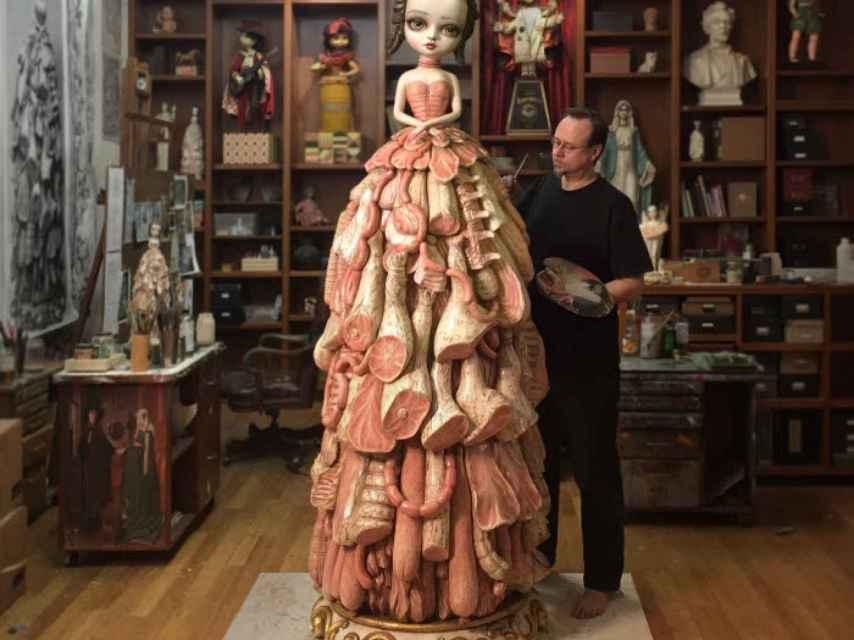 Mark Ryden, padre del surrealismo pop, presenta su obra en el CAC de Málaga.