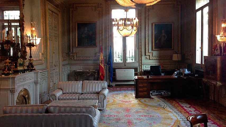 Imagen de la estancia donde la vicepresidenta tiene su tercer despacho.