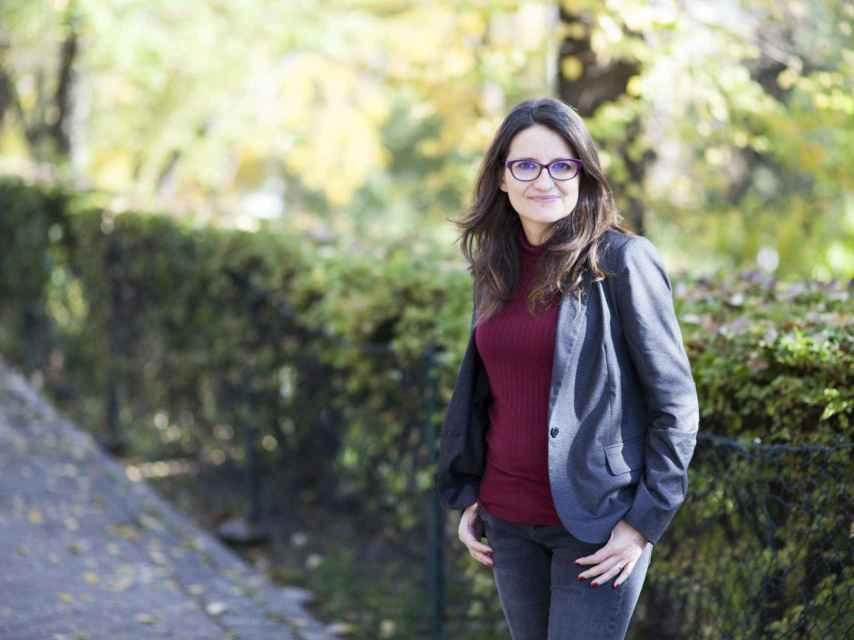 Mónica Oltra posa para EL ESPAÑOL en Madrid.