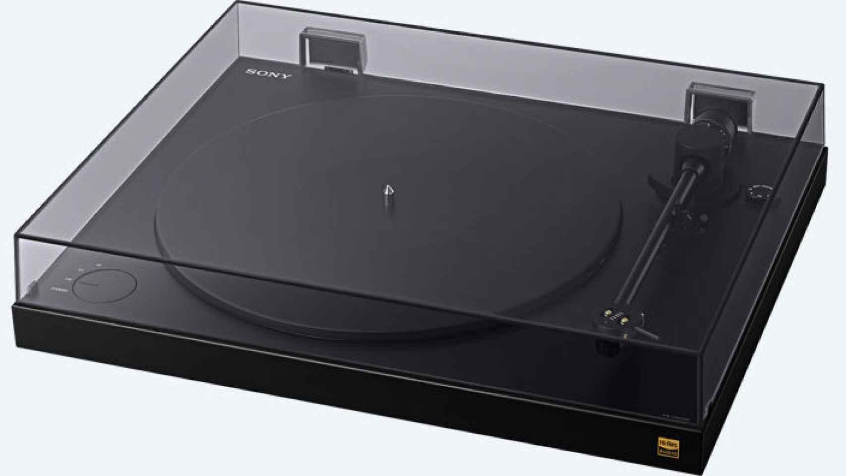 Sony presentó su nuevo tocadiscos a principios año en el CES de Las Vegas.