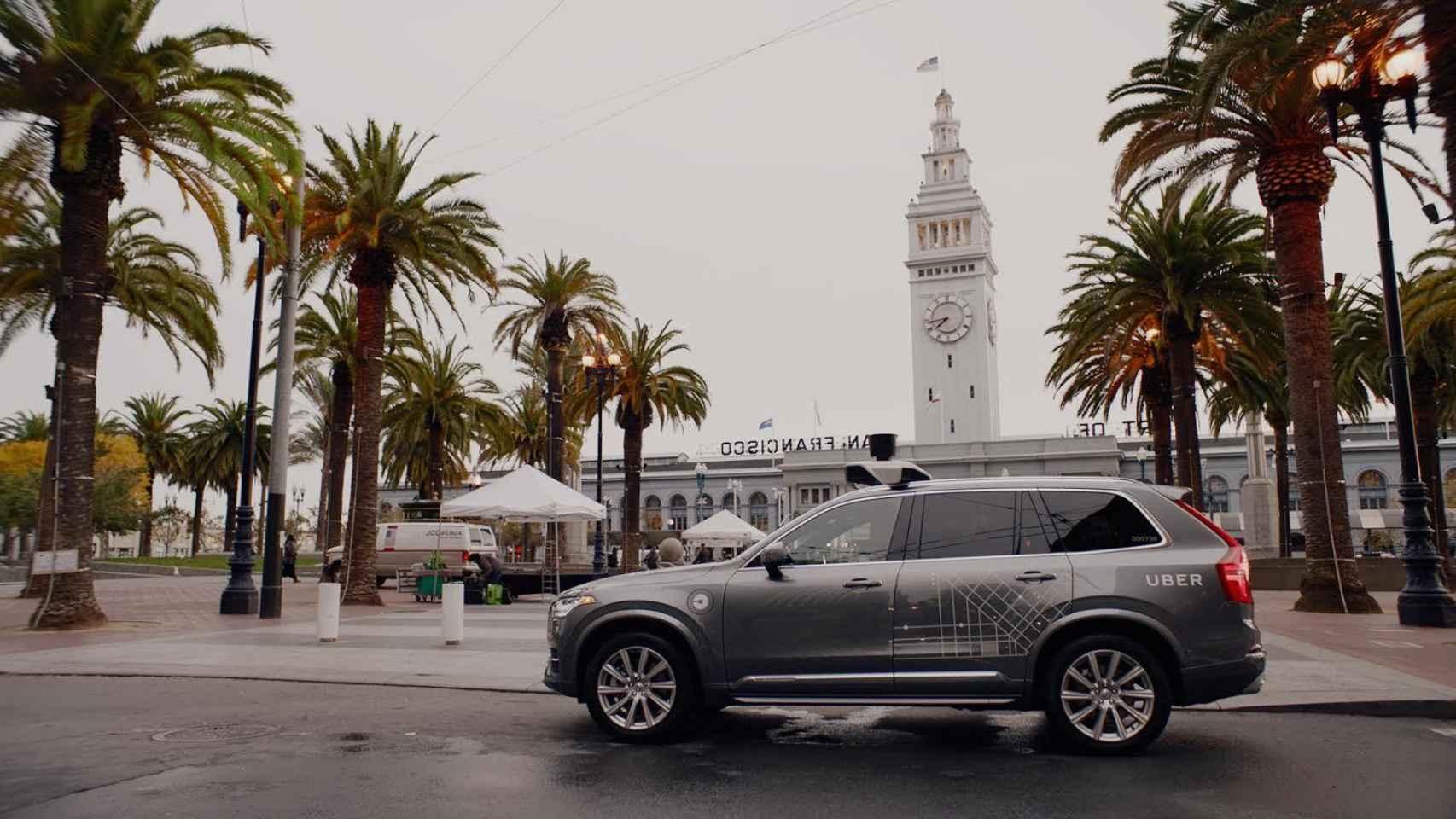 Uber comenzó recientemente su programa de vehículos sin conductor en San Francisco.