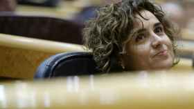 La ministra de Sanidad, Dolors Montserrat, este martes en el Congreso de los Diputados