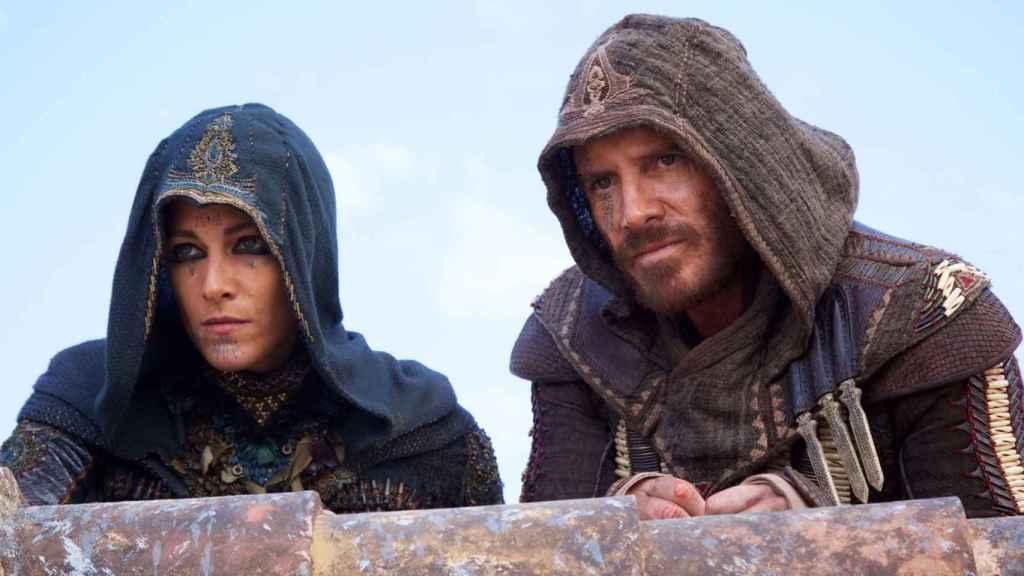 Ilustración 1 Fassbender interpretando a Aguilar de Nerja con su compañera María (Ariane Labed)