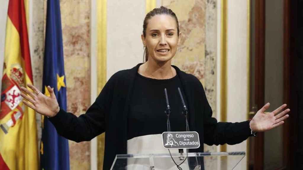 La diputada de Ciudadanos Melisa Rodríguez.