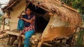 Una cabaña donde se pratica el chhaupadi.