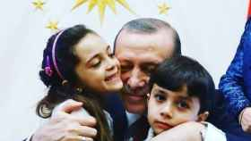 Bana Alabed y sus hermanos han visitado a Erdogan.