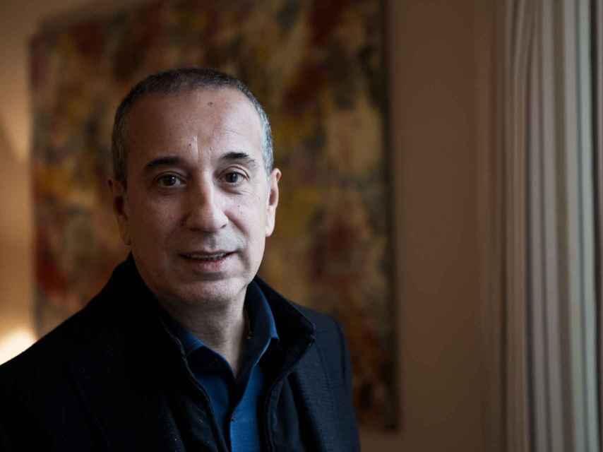 Antonio Fernández durante la entrevista.