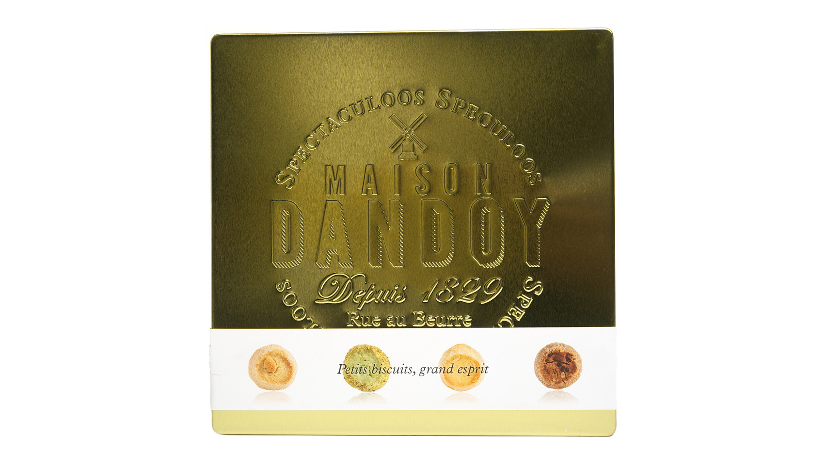 Surtido de galletas Belgas Golden Biscuits de Maison Dandoy.