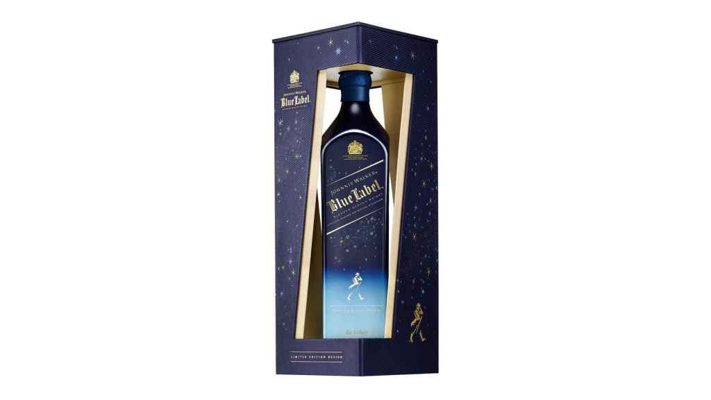 Whisky de Johnnie Walker Blue Label.