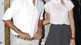 El tenista y la modelo, cuando aún eran pareja.