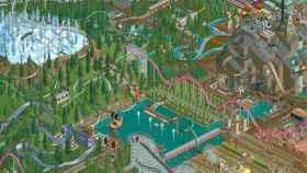 Diseña montañas rusas en tu propio parque de atracciones con RollerCoaster Tycoon Classic