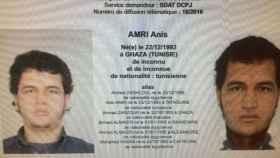 Anis Amri, el tunecino presuntamente implicado en el atentado de Berlín.