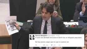 Percival Manglano: Racismo sería un tuit sobre meter a 5 millones de refugiados en el cenicero