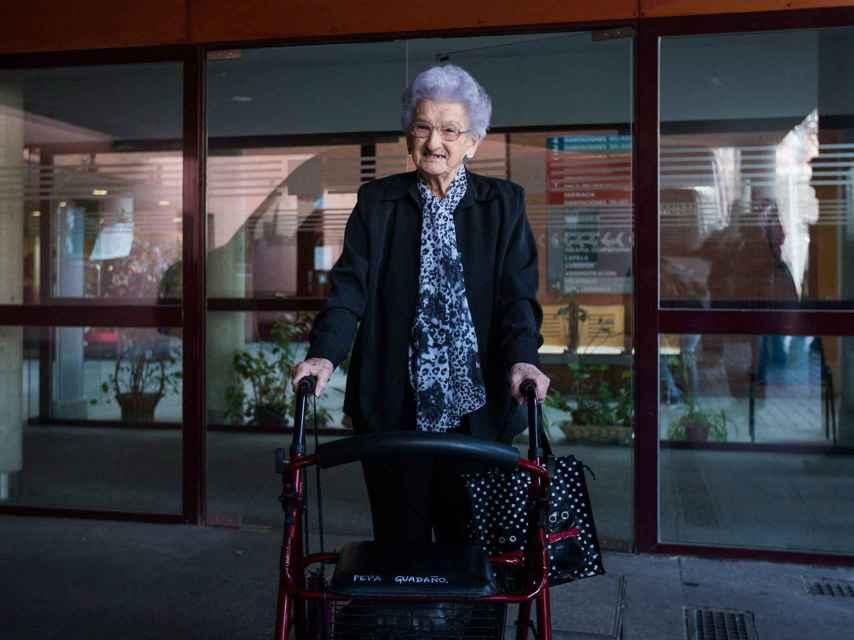 Pepa, a sus 92 años, llevaba tres décimos de El Gordo de la Lotería de Navidad
