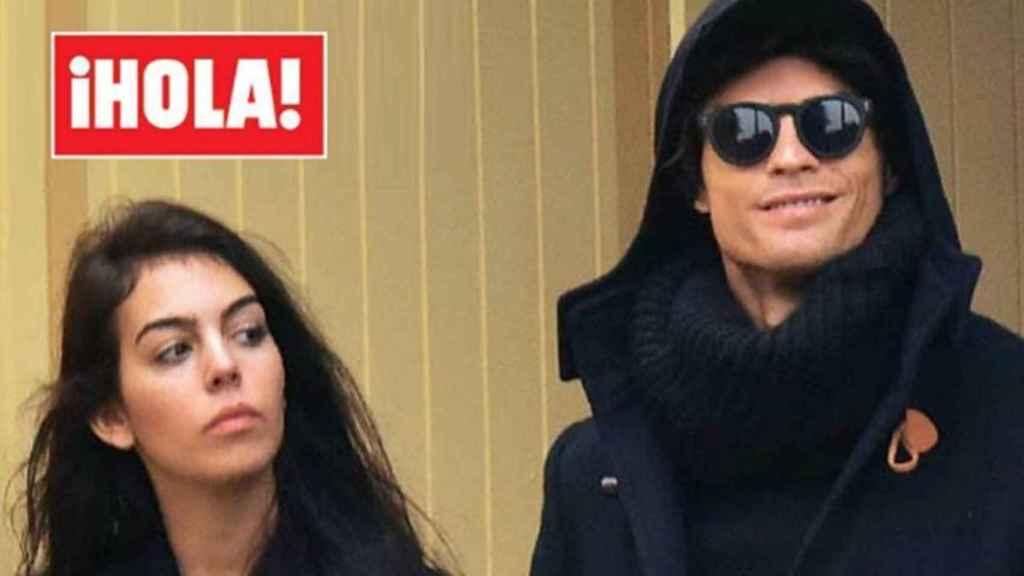 Cristiano Ronaldo y Georgina en exclusiva en ¡HOLA!