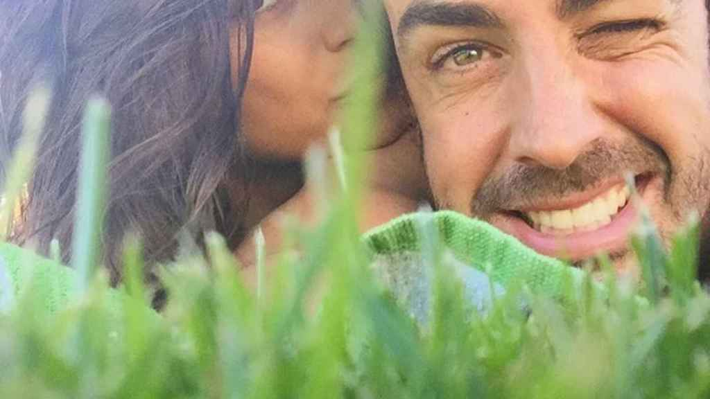 Fernando Alonso y su novia Linda Morselli