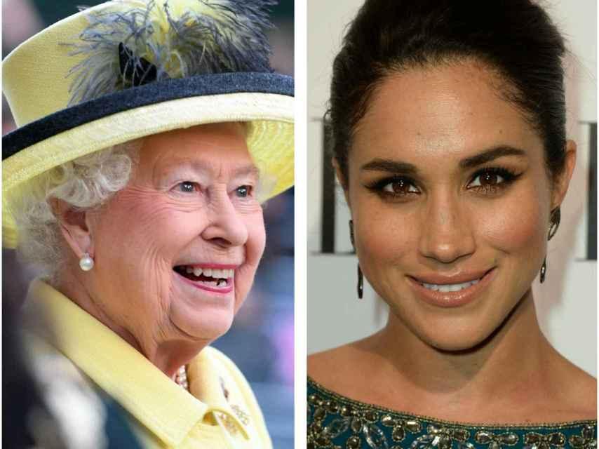 La reina Isabel II da su opinión sobre la novia del príncipe Harry