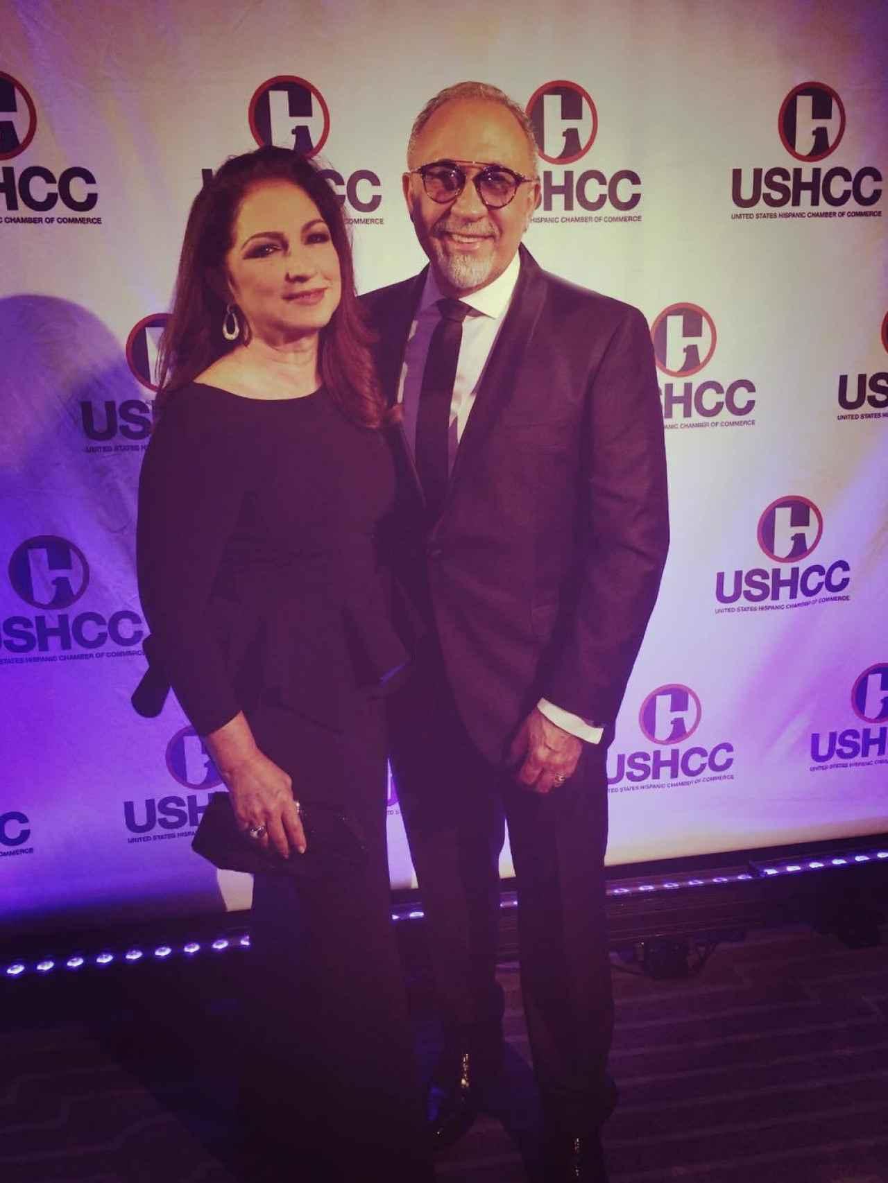 Gloria Estefan y su marido Emilio Estefan
