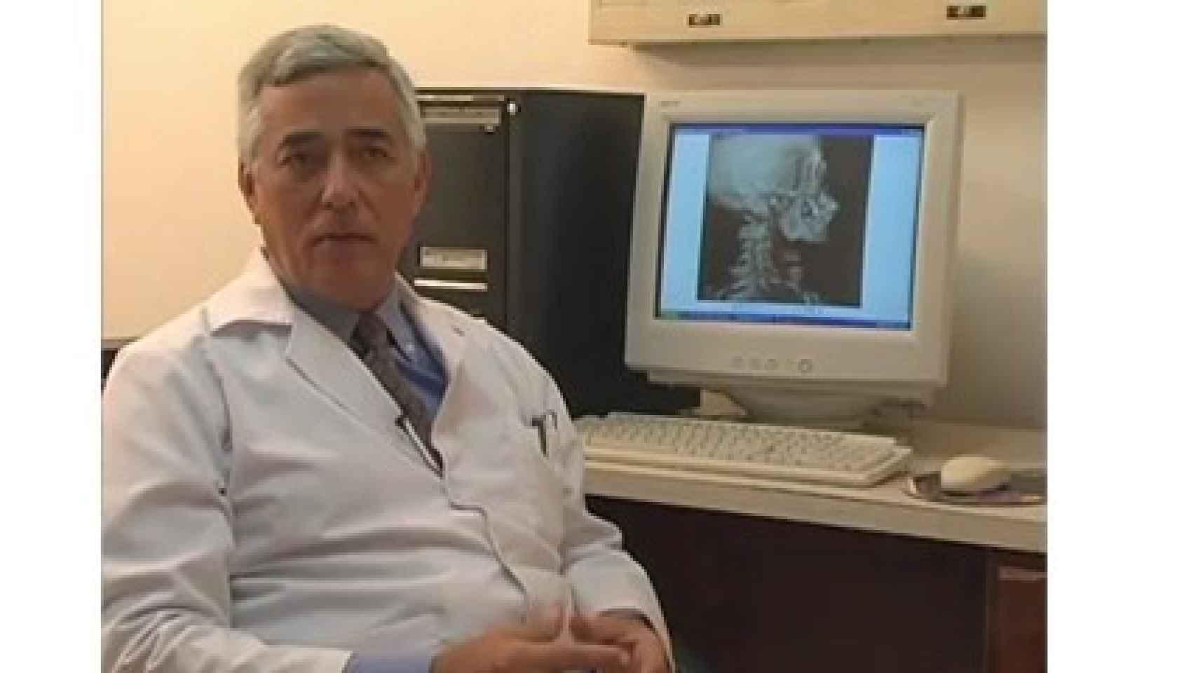 El neúrologo Carlos Suárez Monteagudo