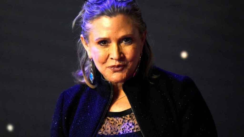 Fallece la actriz Carrie Fisher.