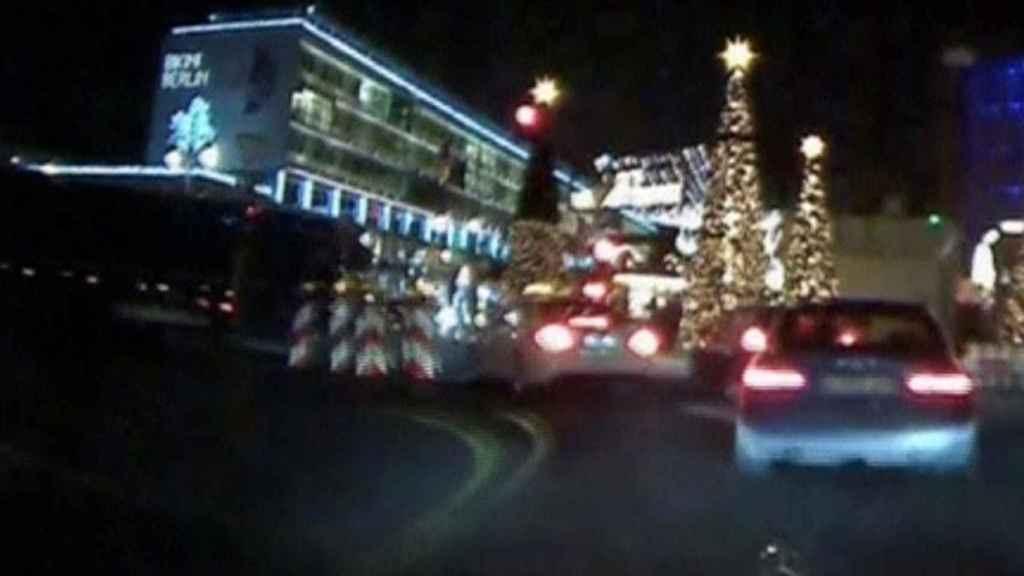 Imagen captada desde un taxi