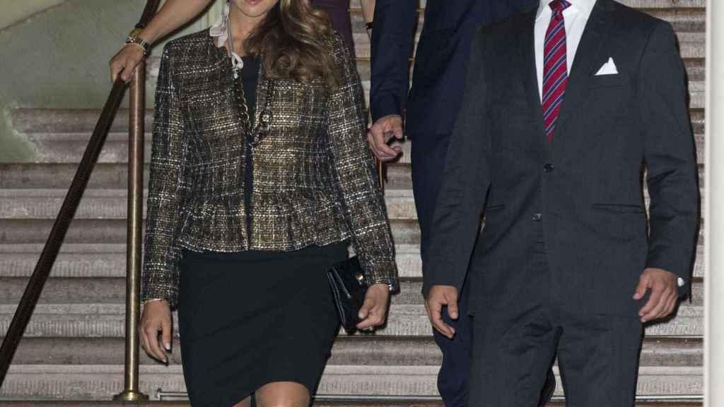 Los hijos y los yernos de Silvia de Suecia han estado en todo momento con ella.
