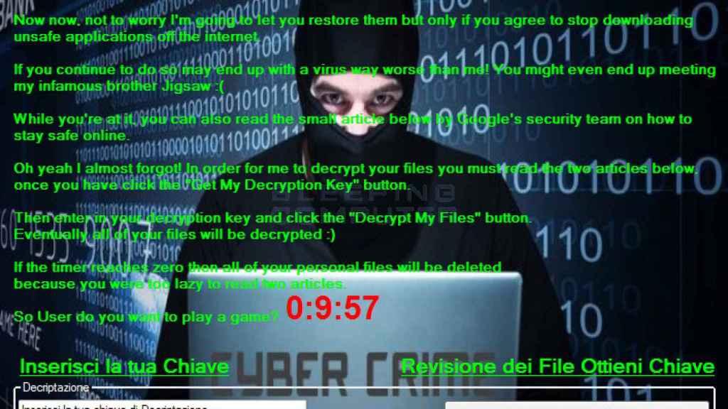 Hackers usan ransomware para obtener cuantiosas sumas de dinero