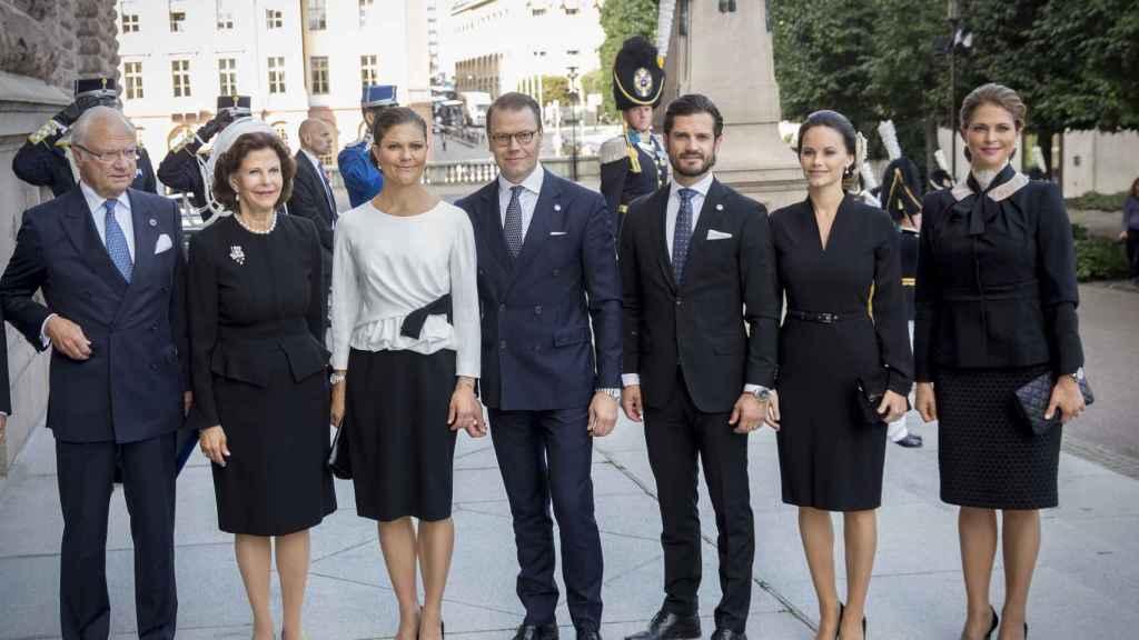 La Familia Real sueca ha pasado el fin de semana en el hospital.