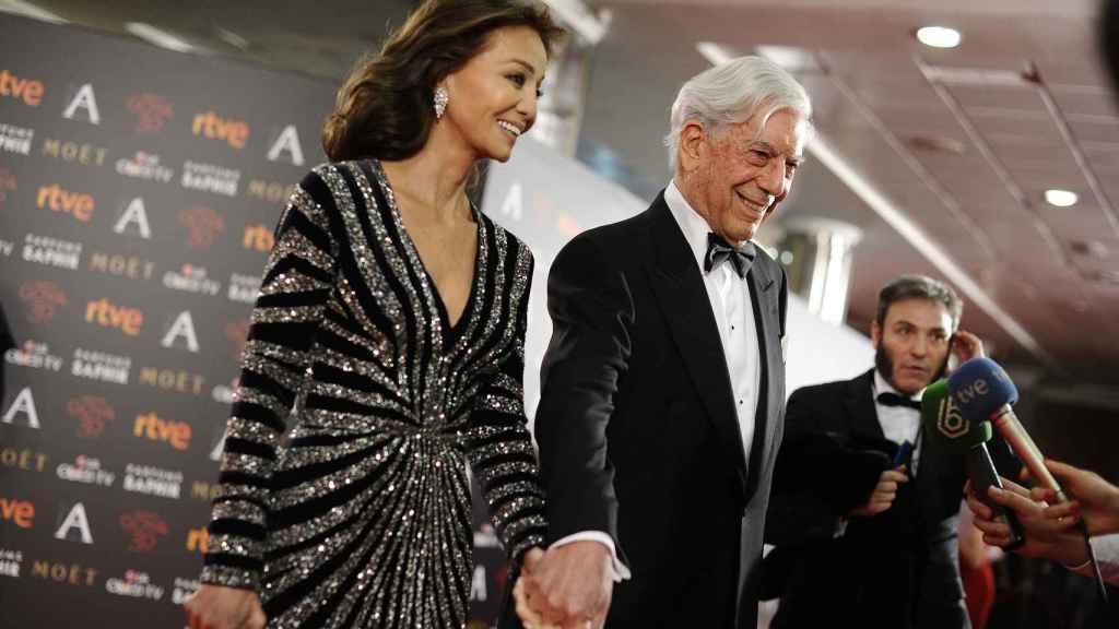La pareja en los premios Goya.