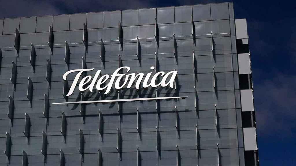 Fachada de Telefónica.