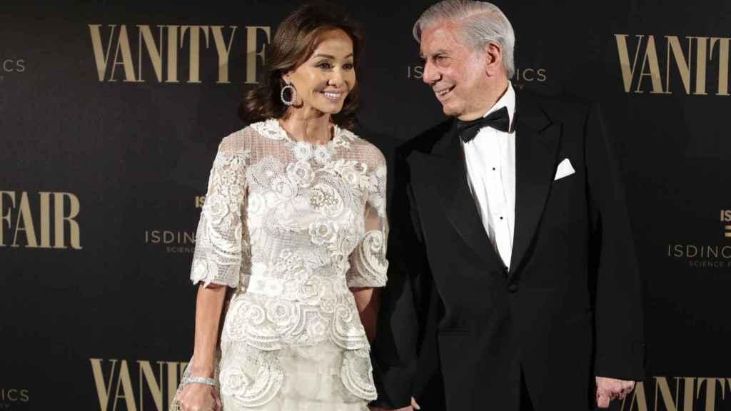 Isabel Preysler y Mario Vargas Llosa en su última fiesta juntos.