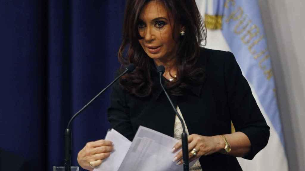 CFK en una imagen de archiva