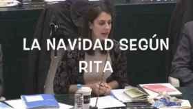 El vídeo que ha distribuido el PP ridiculizando a Rita Maestre.