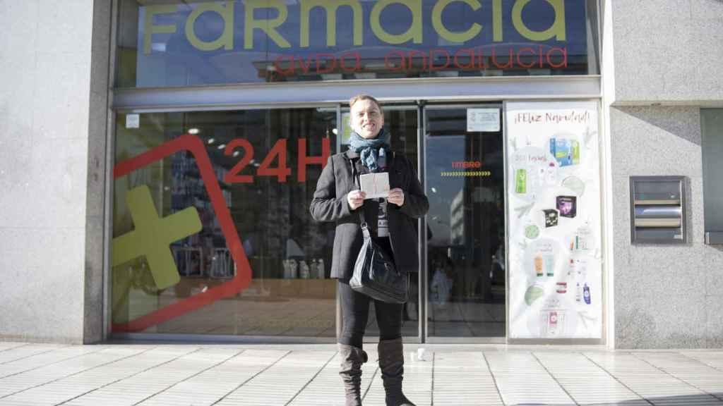 Alejandra Huertas lleva meses sin Mariestra porque no la encuentra en ninguna farmacia