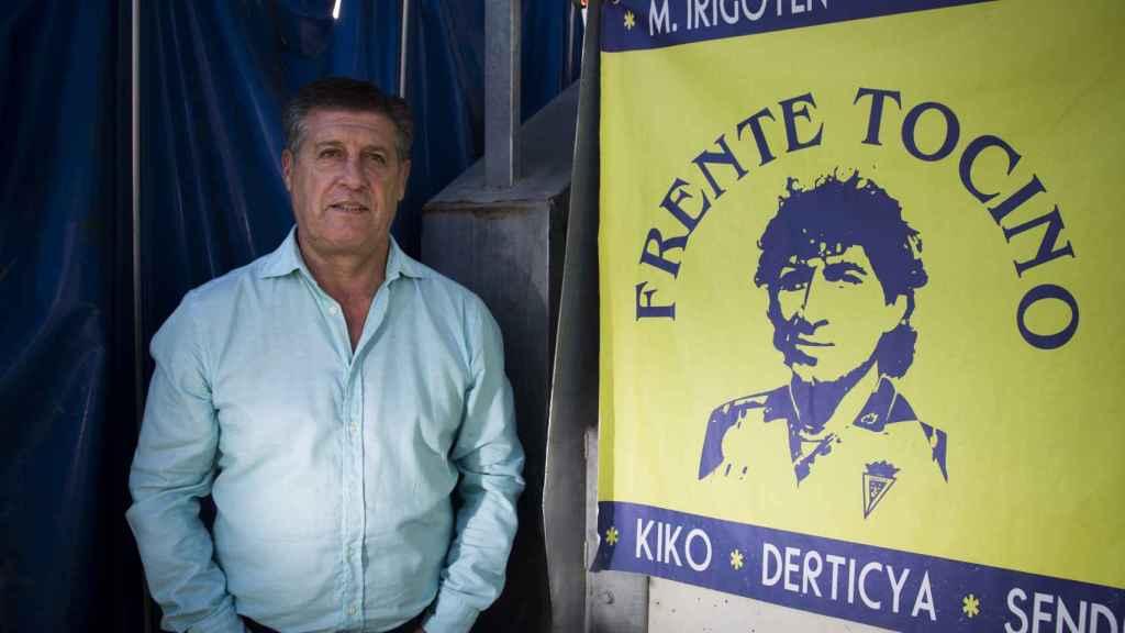 El argentino Hugo Vaca fue compañero de Mágico en las filas del Cádiz. Dice que nunca ha visto a ningún otro jugador hacer tanto cuidándose tan poco.