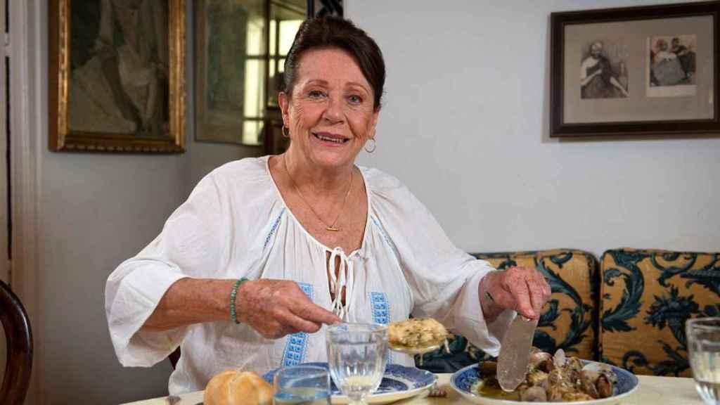 Elena Santoja, en una aparición en el Canal Cocina