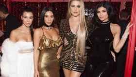 Parte de clan Kardashian. De izquierda a derecha, Kourtney, Kim, Khloe y Kylie.