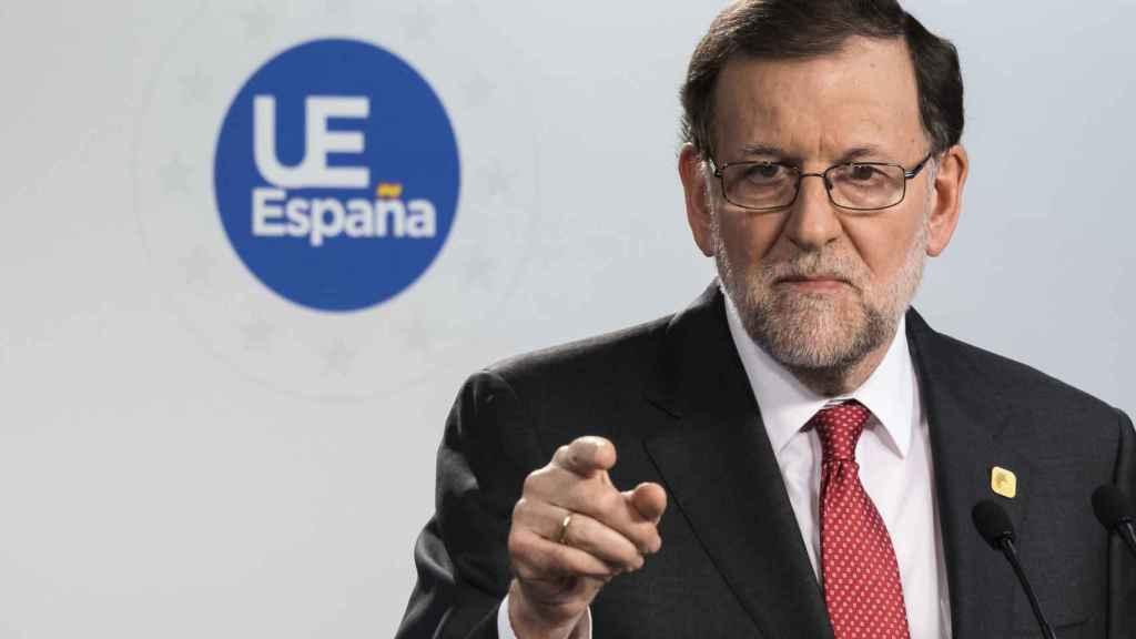 Mariano Rajoy, en uno de sus últimos actos oficiales de 2016.