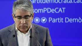 El portavoz del PDeCAT en el Congreso de los Diputados, Francesc Homs.