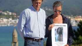 Juan Carlos Quer y Diana López-Pinel, poco después de la desaparición de su hija.